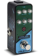 Valeton Coral MDR Digital Chorus Modulation Delay Reverb Multi Effects Guitar Pedal