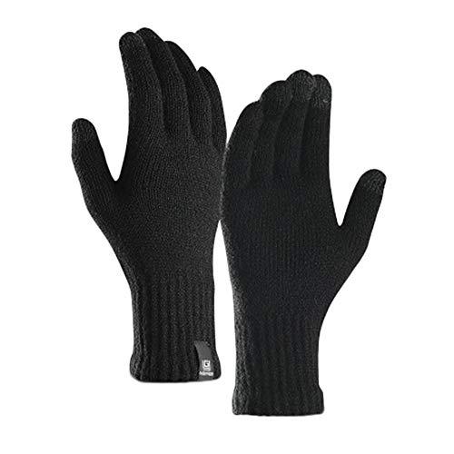 Shaoyao Unisex Leichte Lauf-Handschuhe Haar Touchscreen Kompatibel Agile Glove Sport Im Freien Schwarz