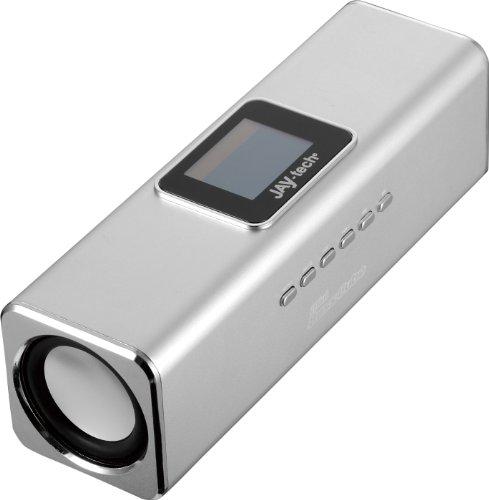 Jaytech 77002469 Bluetooth Mini Bass Cube aktiv-Lautsprecher (1 Stück, 3,5mm Klinke, USB)