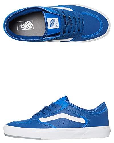 Vans Rowley Classic - Zapatillas de Skate para Hombre (66/99/19), Color Azul y Gris, Color Azul, Talla 43 EU