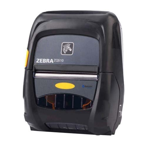 "Zebra Technologies ZQ51-AUE0000-00 Portable Barcode Printer, ZQ510, 3"" Size, Bluetooth 4, 203 DPI"