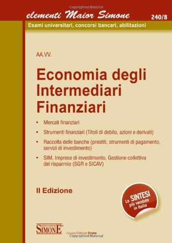 Economia degli intermediari finanziari