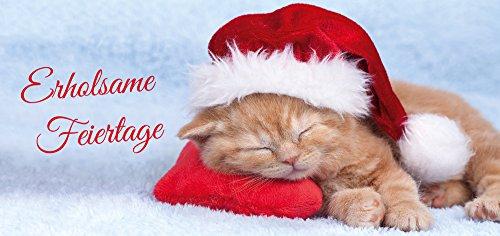 5 lustige Weihnachtskarten/Klappkarten