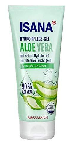 Hydro Pflege-Gel Aloe Vera - Pflegecreme für Körper und Gesicht mit Aloe Vera - Für intensie Feuchtigkeit - 200 ml