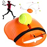 Gejoy Tennis Ball Trainer Tennis Training Baseboard Tennis Trainer Ball with String Self Practice Training Tennis Ball Tool Tennis Baseboard Equipment for Tennis Training Supply