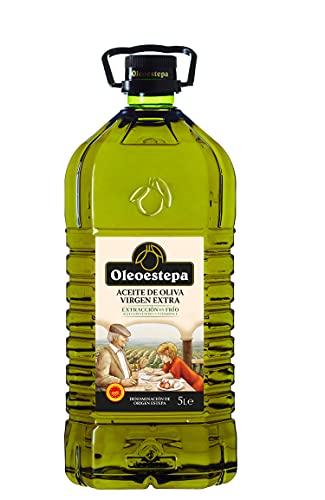 OLEOESTEPA - Aceite de Oliva Virgen Extra - Garrafa 5 Litros