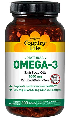 Omega-3 1000MG Fish Oil 300 CT