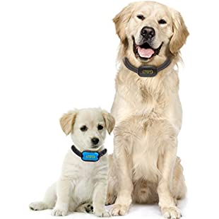 Premium Paws Advanced Intelligence Anti Bark Dog Collar. Stop Dogs Barking with Sound & Vibration, Small & Large Dogs, No Shock, No Spray - Dog Bark Collar with Canine Psychology E-book