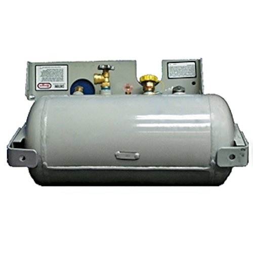 100 lb horizontal propane tank - 9