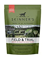 DENTAL & DIGESTION - Made with all-natural mint, charcoal and chicory to support your dog's digestion and dental health. HERITAGE BRAND - Skinner's have been making working dog food for 50 years. Over the last five decades, we have established incred...
