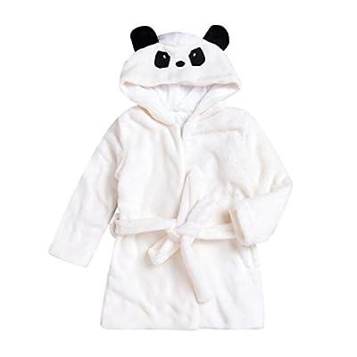 Baby Bathrobe, Boys Girls Kids Robe Cartoon Panda Towel Pajamas Clothes Raptop
