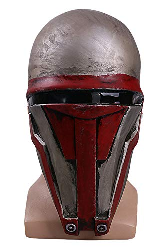 Bilicos Darth Revan Mask Cosplay Deluxe Latex Maske Cosplay Props Requisiten Helm