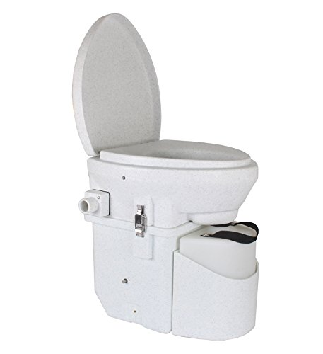 Why Should You Buy Nature's Head Self Contained Composting Toilet with Close Quarters Spider Handle ...