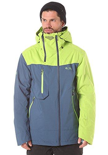 RIP CURL Core Search Gum Jkt - Chaqueta de montaña para Hombre, Color Verde, Talla M