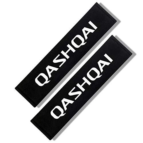 2 unids cinturón de seguridad cinturón de cinturón de cinturón de cinturón de asiento almohadilla de correa para el hombro Cojín adecuado para Renault Opel Alfa Romeo Dacia Lifan Great Wall Ssangyong
