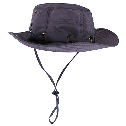 Peicees Mens Sun Hat Sun Protection UPF 50+ Fishing Hat Safari Hat for Women Men Boonie Hat