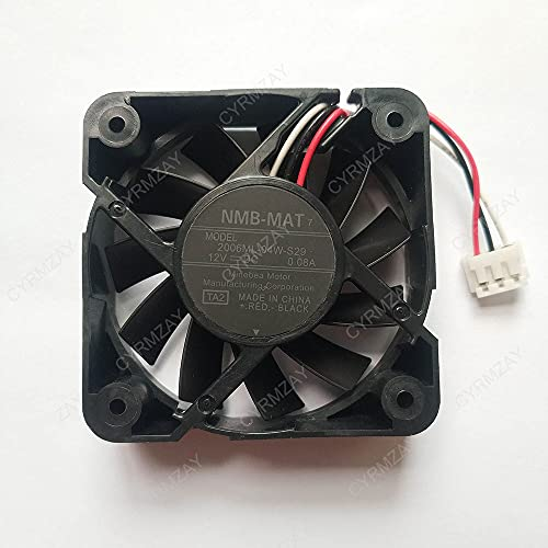 CYRMZAY Compatible for NMB-Mat 2006ML-04W-S29 50 * 50 * 15MM 12V 0.08A 3Pin Cooling Ventilador