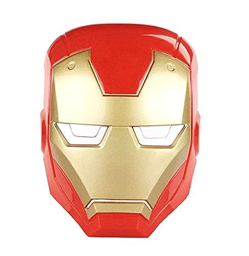 Iron Man Maske - Erwachsene - Kinder - Verkleidung - Karneval - Halloween - Cosplay - Top Qualität - originelle Geschenkidee zu Weihnachten Geburtstag - Zubehör
