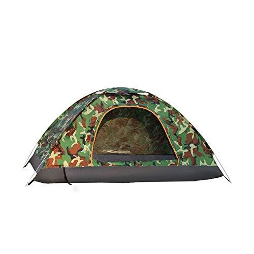 ZIFON Tienda de campaña al aire libre Pop Up tienda 4 personas tienda impermeable ligera protección UV tienda perfecta para la playa, al aire libre, viajes, senderismo, camping, caza, pesca
