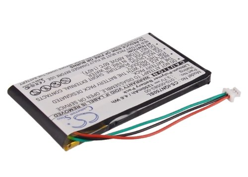 1200mAh Li-Polymer Replacement Battery for Garmin Nuvi 750, Nuvi 755, Nuvi 755T