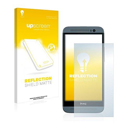 upscreen Entspiegelungs-Schutzfolie kompatibel mit HTC One E8 – Anti-Reflex Bildschirmschutz-Folie Matt