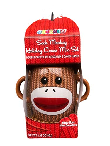 SOCK MONKEY HOLIDAY COCOA SET