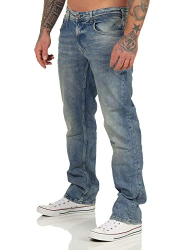 M.O.D Miracle of Denim Herren Jeans Hose Thomas Comfort gerades Bein alps Blue 30/32