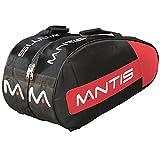 Mantis TSL055BS Pro Series 6 - Raqueta térmica, Color Negro y Rojo, Talla M