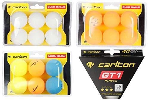Pelotas tenis mesa exteriores interiores, 6 pelotas