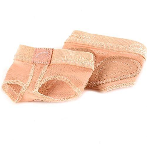 Capezio - Bailarinas para mujer, color Beige, talla Medium (UK Shoe Size 6 to 7)