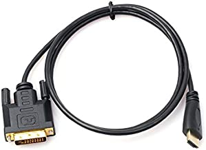 Gold Plated HDMI DVI Cable Adapter Male Male Adapter Converter Black Black