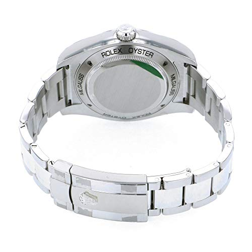 ロレックスROLEXミルガウス116400GVブラック文字盤新品腕時計メンズ(W196930)[並行輸入品]
