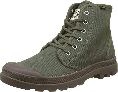 Palladium Pampa Hi Originale, Botas Clasicas Unisex Adulto, Verde (Olive Night/Black K65), 39 EU