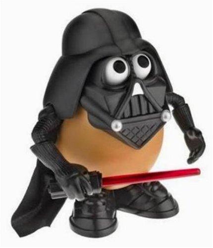 Star Wars Playskool Mr Patata Head Darth Tater