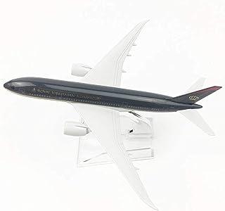 1:400 Scale Desktop Model 16Cm Jordanian Boeing 787,Airplane Model Building Kit with Stand