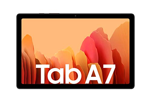 Samsung Galaxy Tab A7, Android Tablet, WiFi, 7.040 mAh Akku, 10,4 Zoll TFT Display, vier Lautsprecher, 32 GB/3 GB RAM, Tablet in Gold