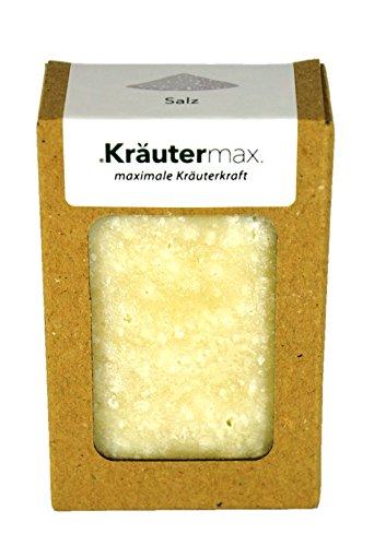 Kräutermax Salz Seife 1 x 100 g für empfindliche Haut