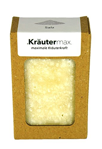 Salzseife Naturkosmetik Salz Seife mit Meersalz Naturbelassen für die Haut 1 x 100 g