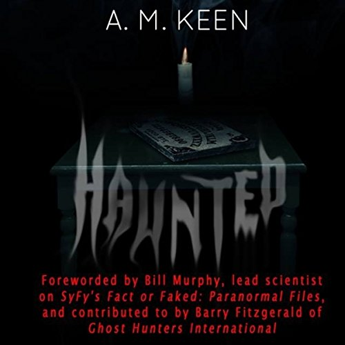 Haunted audiobook cover art