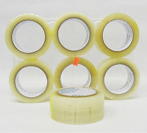 timtina–Set di 18rotoli di nastro adesivo per imballaggio, colore: Trasparente