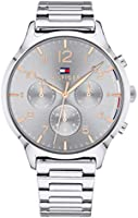 Tommy Hilfiger Women'S Grey Dial Stainless Steel Watch - 1781871