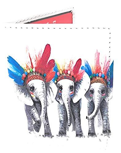 Funda Abono Transporte Tarjetas con Estampados Divertidos Animales (Elefante)