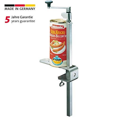 Westmark Dosenöffnermaschine zur Tischmontage, Für Gastronomie/Profi-Küchen, Länge: 84 cm, Stahl/Edelstahl, Sieger Clou 30, 19802260
