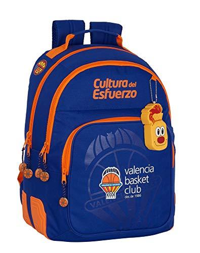 safta Mochila Escolar de Valencia Basket, 320x150x420mm
