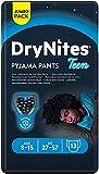 DryNites Calzoncillos absorbentes para Niño 8-15 años 27 - 57kg, 4 paquetes x 13 uds 52 unidades