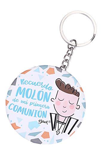 DISOK - Llavero Chapa Abridor Recuerdo MOLÓN. Chapas abridores para comuniones. Chapas comunión (Azul, 5)
