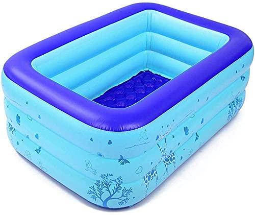 ZSCC Opblaasbaar zwembad opblaasbare kinderzwembaden drielaags cartoon kinderzwembad voor huishoudelijk gebruik