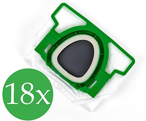 Vorratspackung 3x6 Staubsaugerbeutel Premium geeignet für Vorwerk Kobold VK 200