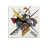Wassily Kandinsky Art Abstracto Expresionismo Lienzo Póster y Cuadro Cuadro Cuadro Cuadro Cuadro Cuadro Moderno Familiar Decoración de Dormitorio Póster 60 x 60 cm