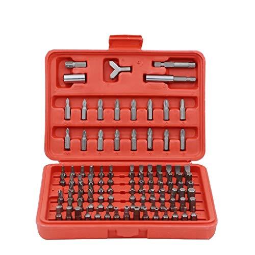 SPNEC Destornillador Set 100 en 1 Destornillador MultiTools Precision CR-V Torx Hex Hex Tornillo de Tornillo Magnético Herramientas de Mano